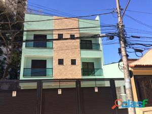 Cobertura sem condomínio 2 dormitórios 150 m² em santo andré   vila assunção.