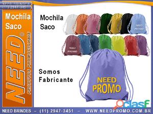 Mochilas SACO .|. Preço de Mochila Saco para Esportes em Geral .|. Preço Mochila Saco   PREÇOS