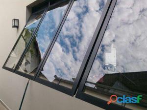 Restauração em janelas alumínio