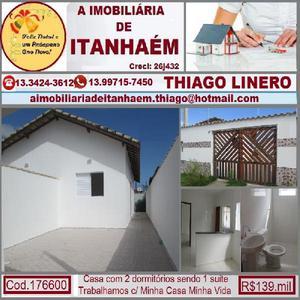 A imobiliaria de itanhaém, casa na praia