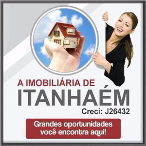A imobiliária de Itanhaém, terreno na praia