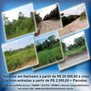 Terrenos facilitados em itanhaém (praia)