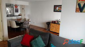 Apartamento 2 dormitórios 2 vagas 76 m² em santo andré   bairro campestre.