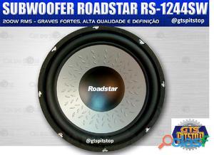 Alto falante sub 12 200w rms 4 r rs 1244sw roadstar