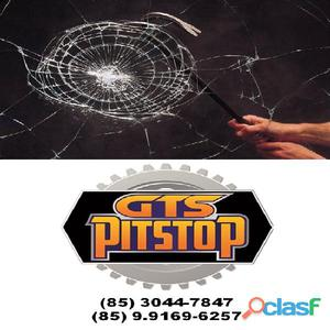 Pelicula anti impacto (anti vandalismo) tem o poder de absorver e dissipar a força de impacto