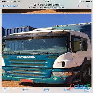 Scania p 340 2011 6x2 branco