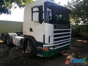 Scania r 124 420 2008 6x2 branco