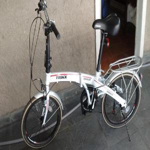 Bike dobrável aro 20 um mês de uso