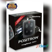 Alarme carro pósitron kl330 keyless controle de presença