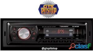 Auto radio mp3 player rs2601br automotivo roadstar rs2601