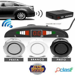Sensor de estacionamento 4 pontos display led