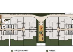 Le village 58m² casa verde Souza creci 85646