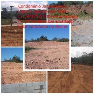 Terrenos de 250m² em condomínio fechado em suzano.