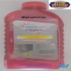 Aditivo orgânico a base de polímeros para radiador sintético concentrado rosa
