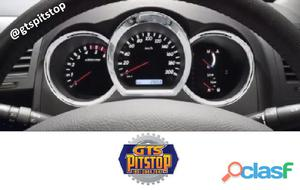 Aplique Do Velocimetro Painel Toyota Hilux 03 Aneis Cromado