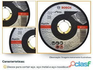 Disco corte 4 inox 115x1x22,23mm bosh