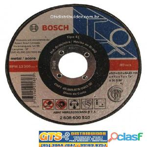 Disco de corte expert metal plano 115x3.0x22.23mm gr30 rbf bosch