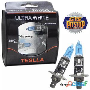 Lâmpada super brancas teslla ultra white h1 3800k 24v 7