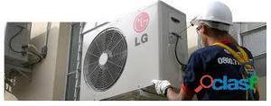 Manutenção preventiva e instalação em aparelhos de ar condicionado!