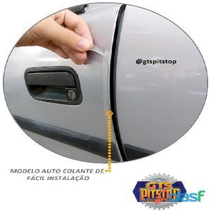 Protetor canto de porta resinado universal transparente fabricado em resina poliuretânica de excelen