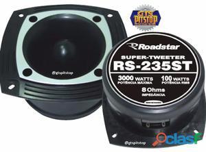 Super tweeter roadstar rs 325st (120w rms / 8 ohms)