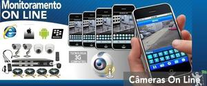 Venda,instalação de câmeras e equipamendo de segurança