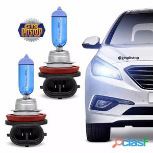 Lampada automotiva multilaser h11 12v 55w super branca