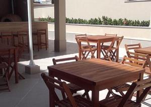 Campo grande riviera premium, 2 quartos com suíte e varanda