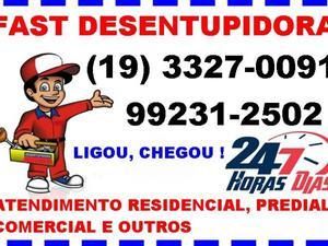 Desentupidora fast 3327-0091 - desentupimento em geral no
