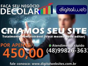 Digital web criação de sites logo marketing digital
