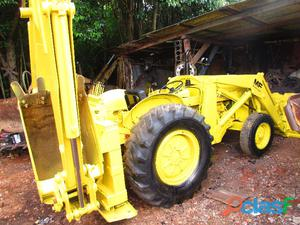 Retro escavadeira massey ferguson mf 65r ano motor perkins
