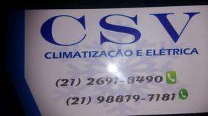 Instalação de ar split e manutenções - Rio de Janeiro