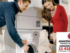 Assistência técnica máquina de lavar, secadora e lava e