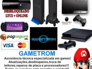 Conserto de vídeo games especializada!