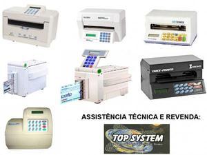 assistência técnica impressora de cheque -