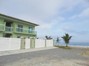 Abaixou! apartamento c/ varanda c/ vista para a praia em