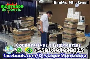 Montador de móveis recife pe whatsapp 81 999998025