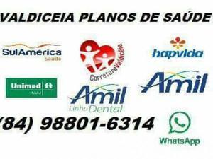 Unimed- amil dental-hapvida- amil saúde (84)9 8801-6314 oi