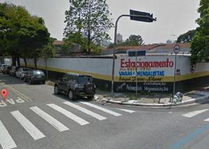 ESTACIONAMENTO HORÁRIO COMERCIAL COM 1.200 m² NO BROOKLIN.