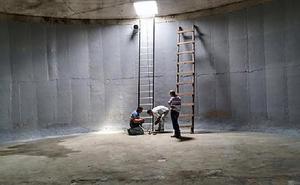 Impermeabilização de cisternas e cx