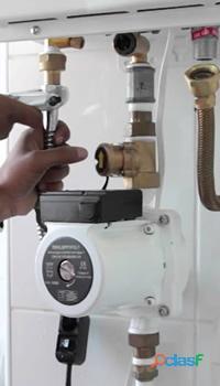 Manutenção de aquecedor, Vargem Pequena. RJ.