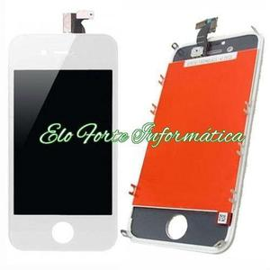 Instalação Tela Display Touch Lcd Iphone 4S Branco ou