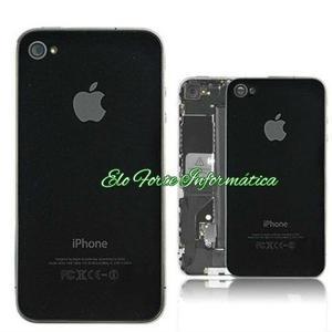 Tampa Traseira Original Apple Iphone 4s – Branco e Preto -