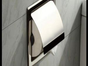 Novo suporte papel higienico cromado inox lançamento aço