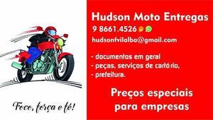 Hudson moto entrega