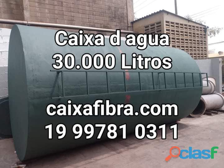Caixa d agua fibra de vidro 30.000 litros = 18400.00 reais