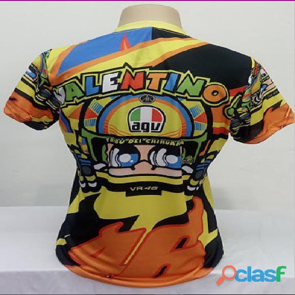 AZ Camisetas HARLEY DAVIDSON / TRIUMPH / Moto Velocidade Valentino Rossi, VR46, The Doctor, The Don 5
