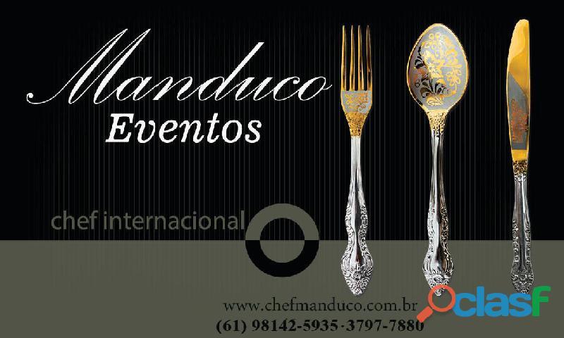 Chef manduco   www.manducoeventos.com.br