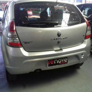 Renault sandero expression hi-flex 1.6 8v 5p 2014