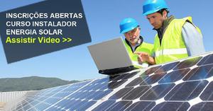Curso instalador energia solar